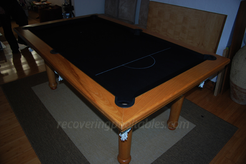 Snooker Oak Black ater Mark 53