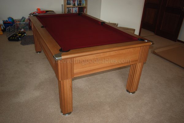 Slimline pool table 3